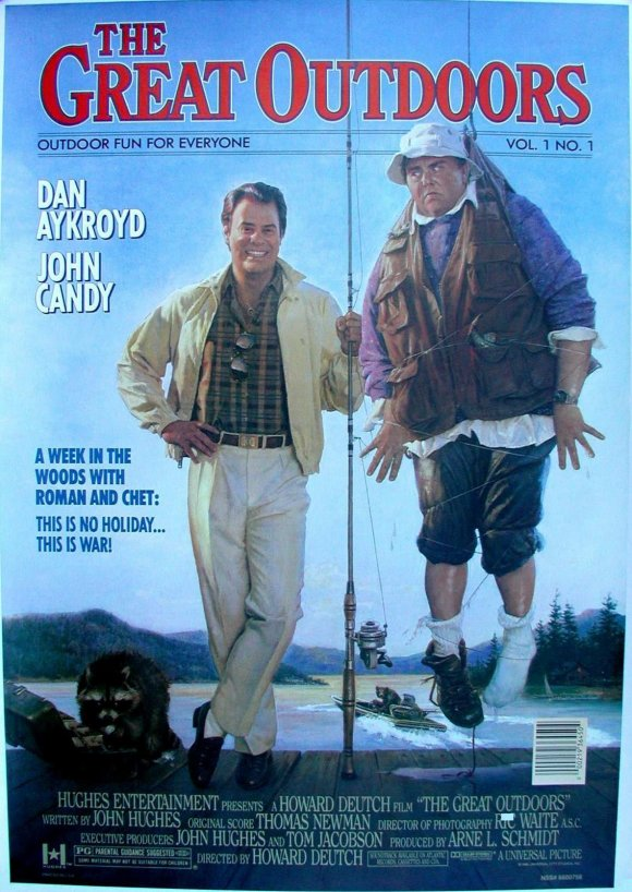 The Great Outdoors. Also staring Dan Aykroyd. I think I would prefer the great big bear as my brother-in-law.