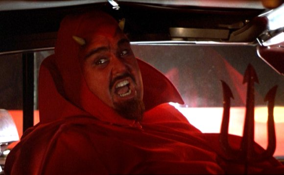 John makes a great Devil. A classic scene from Planes, Trains and Automobiles.