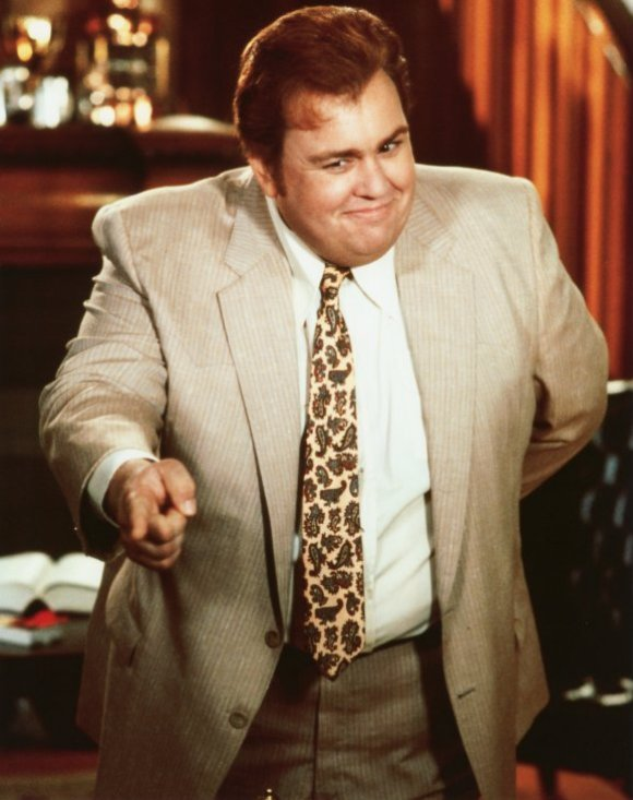 John Candy in the movie Who's Harry Crumb?