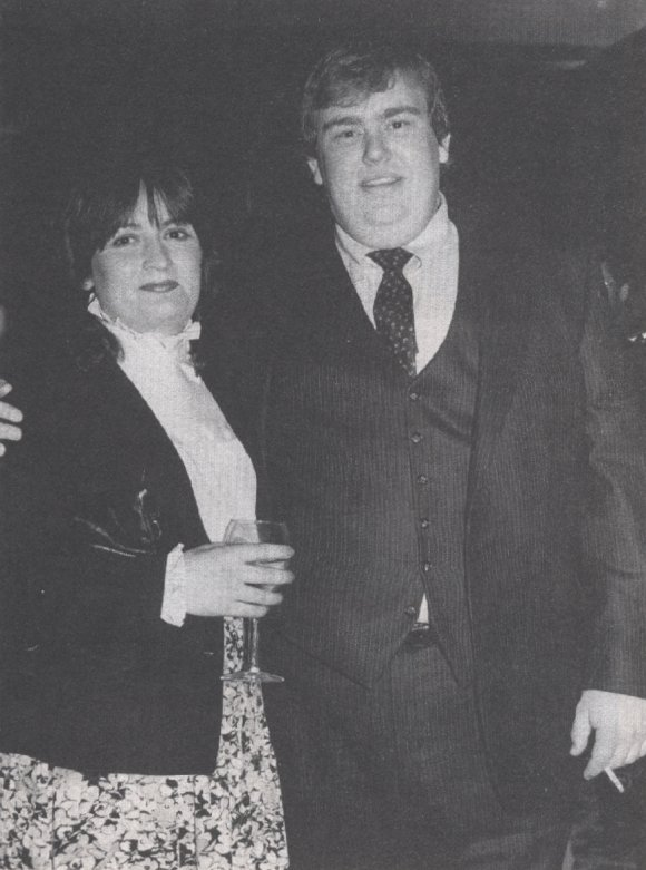 John with his Wife Rosemary.